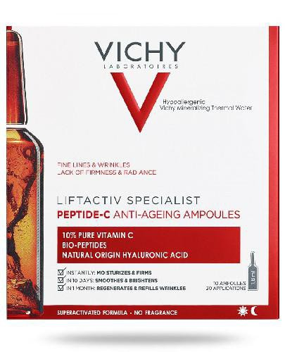 Vichy Liftactiv Specialist Peptide-C ampułki Anti-Ageing 10 x 1.8 ml + Mineral 89 Probiot...