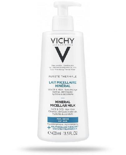Vichy Purete Thermale mleczko micelarne do skóry suchej 400 ml