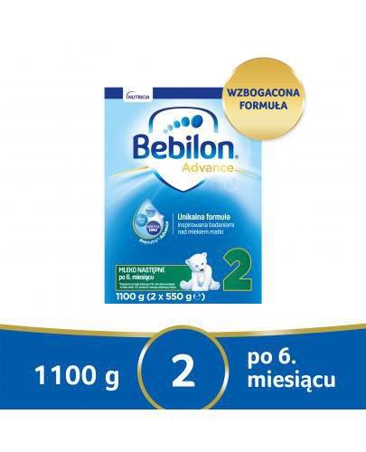 Bebilon 2 Pronutra-Advance mleko następne po 6. miesiącu 1100 g