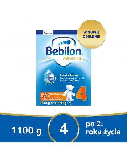 Bebilon 4 Pronutra-Advance mleko modyfikowane po 2. roku 1100 g