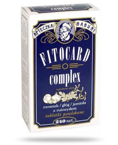 Fitocard Complex 64 kapsułki