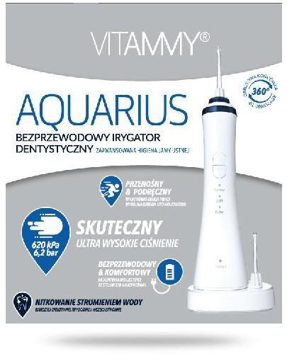 Vitammy Aquarius bezprzewodowy irygator dentystyczny 1 sztuka