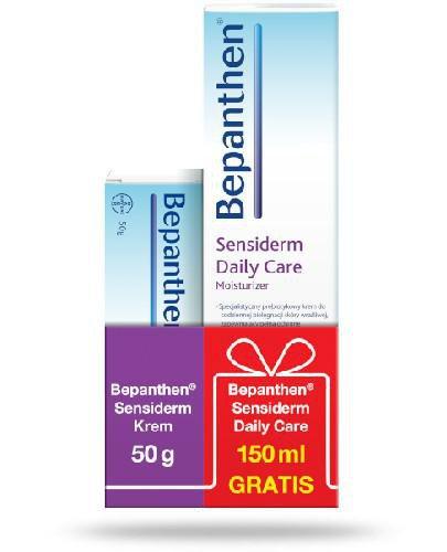 Bepanthen Sensiderm krem na podrażnienia skóry 50 g + Bepanthen Sensiderm Daily Care kre...