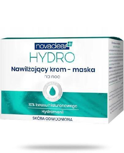 Novaclear Hydro nawilżający krem-maska na noc 50 ml