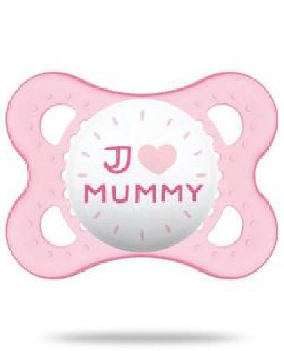 MAM Love&Affection smoczek silikonowy 2-6m uspokajający 1 sztuka [mummy_girl]