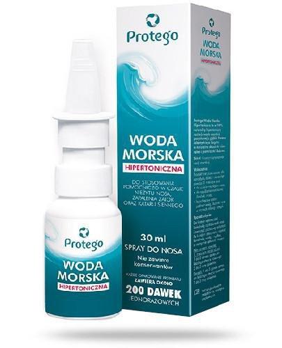 Protego Woda Morska Hipertoniczna spray do nosa 30 ml