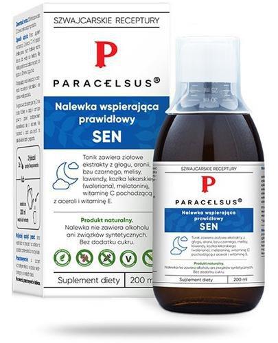 Aura Herbals Paracelsus nalewka prawidłowy sen 200 ml