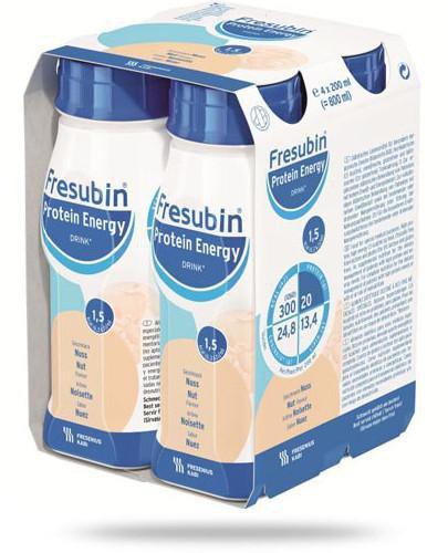 Fresubin Protein Energy Drink Orzech dietetyczny środek spożywczy 4x 200 ml