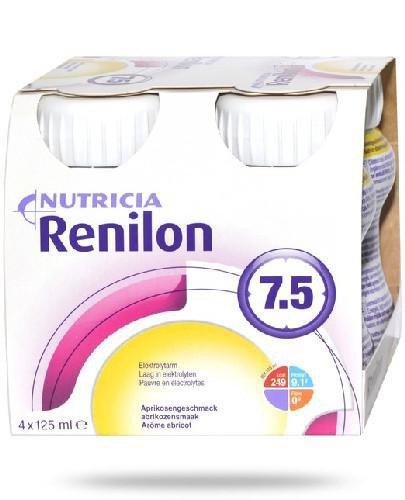 Renilon 7.5 o smaku morelowym 4 x 125 ml