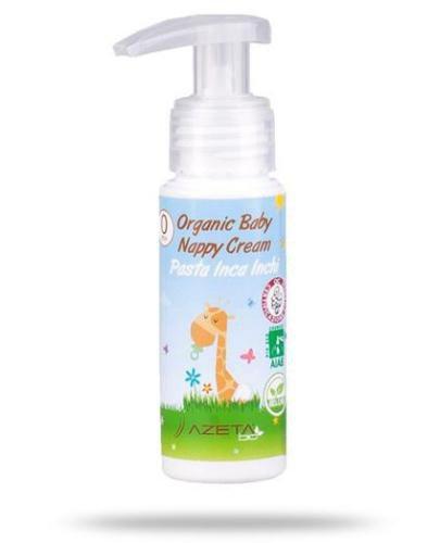 Azeta Bio organiczny krem do pupy przeciw odparzeniom 50 ml
