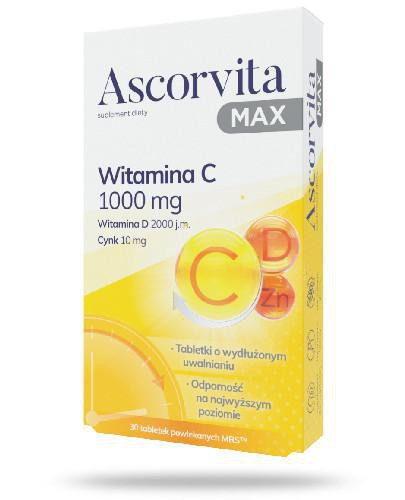 Zdrovit Ascorvita Max 30 tabletek