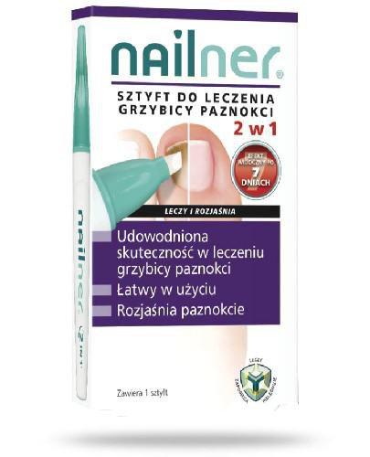 Nailner sztyft do leczenia grzybicy paznokci 2w1 4 ml