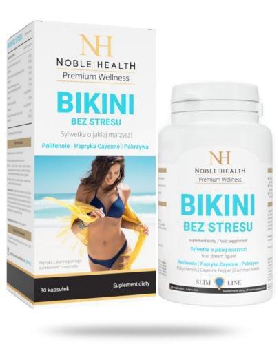 Noble Health Bikini bez stresu 30 kapsułek  [KUP 2 produkty Noble Health = Witamina C For...