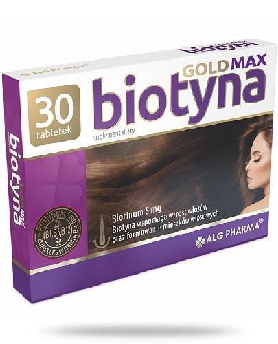 Alg Pharma Biotyna Gold Max 30 tabletek