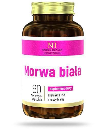 Noble Health Morwa biała 60 kapsułek