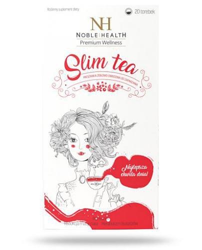 Noble Health Slim Tea mieszanka ziołowa 20 saszetek