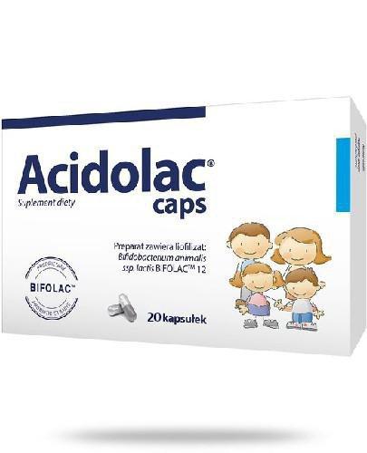 Acidolac caps 20 kapsułek