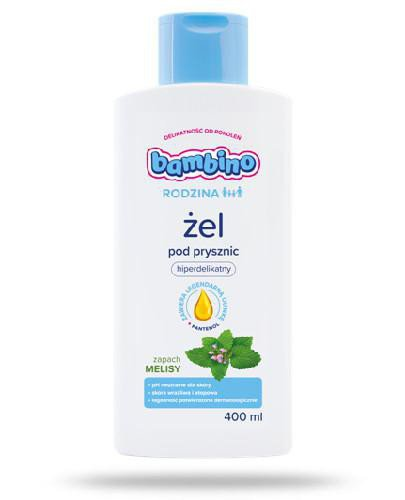 Bambino Rodzina żel pod prysznic o zapachu melisy 400 ml