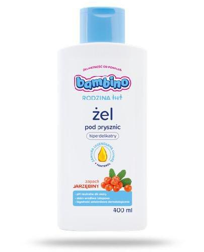 Bambino Rodzina żel pod prysznic zapachu jarzębiny 400 ml