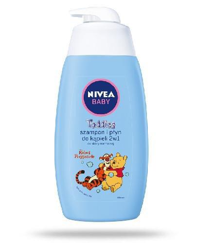 Nivea Baby Toddies szampon i płyn do kąpieli 2w1 do skóry normalnej 500 ml