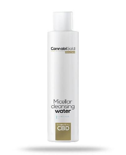 CannabiGold płyn micelarny skóra sucha i wrażliwa 200 ml