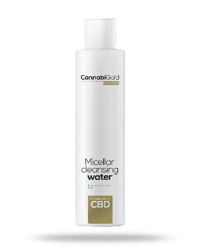 CannabiGold płyn micelarny skóra tłusta i mieszana 200 ml