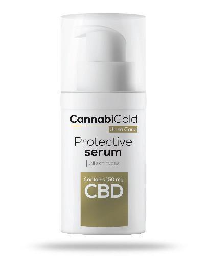 CannabiGold Protective serum ochronne wszystkie rodzaje skóry 30 ml