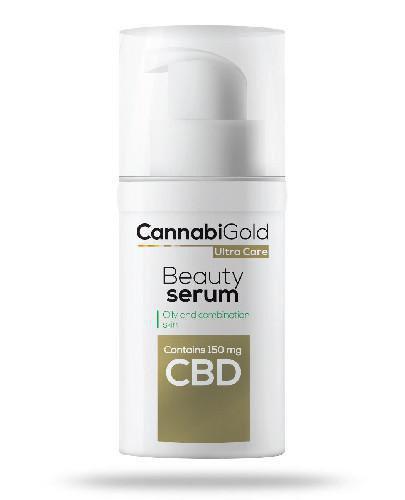 CannabiGold Beauty serum pielęgnacyjne skóra tłusta i mieszana 30 ml