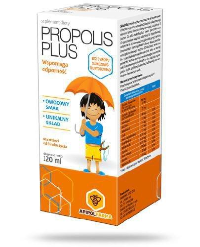 Propolis Plus płyn 120 ml
