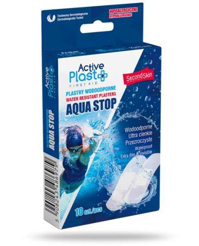 Active Plast Aqua Stop plastry wodoodporne 2 x 7 cm 10 sztuk