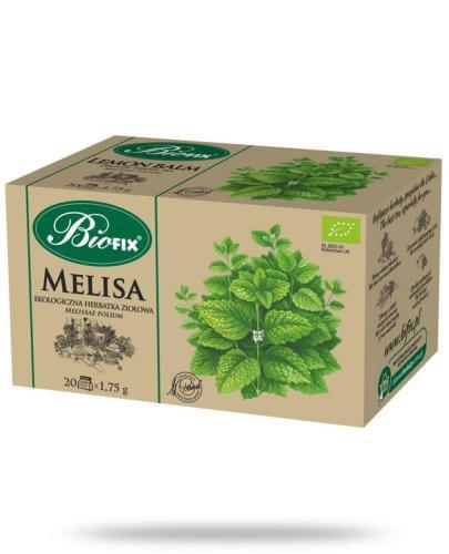 BiFix Herbata melisa - ekologiczna ekspresowa 20 saszetek