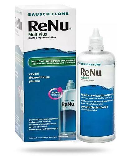 ReNu MultiPlus płyn do soczewek 120 ml