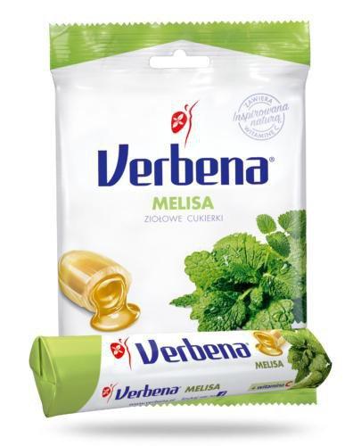 Verbena Melisa cukierki ziołowe 60 g