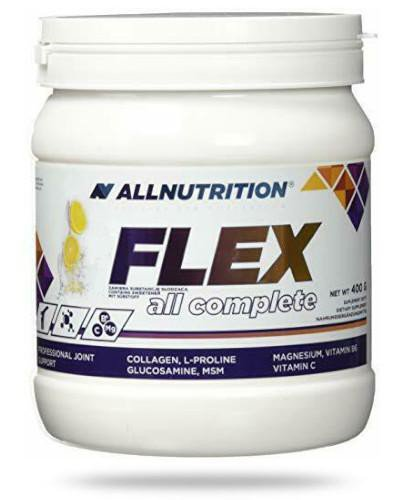Allnutrition Flex All Complete Lemon białko kolagenowe lemon 400 g [kolagen]