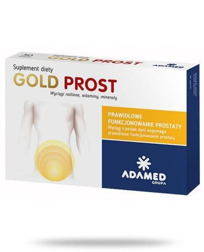 Gold Prost wyciąg z pestek dyni 30 tabletek