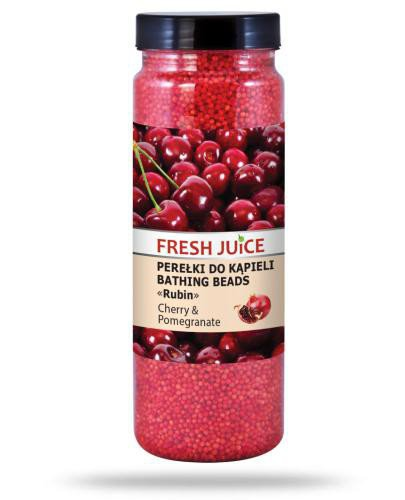 Fresh Juice perełki do kąpieli cherry & pomegranate 450 g