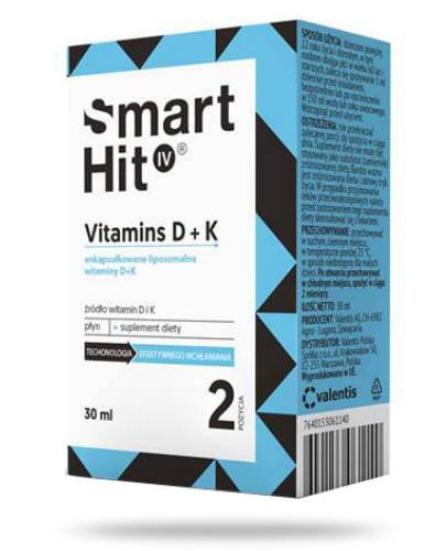 Smart Hit IV Vitamins D + K 30 ml