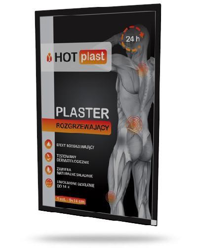 HOT plast plaster rozgrzewający 9 x 14 cm 1 sztuka