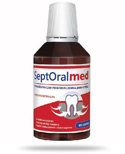 SeptOral Med stomatologiczny płyn do płukania jamy ustnej 300 ml