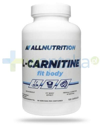 Allnutrition L-carnitine Fit Body 120 kapsułek