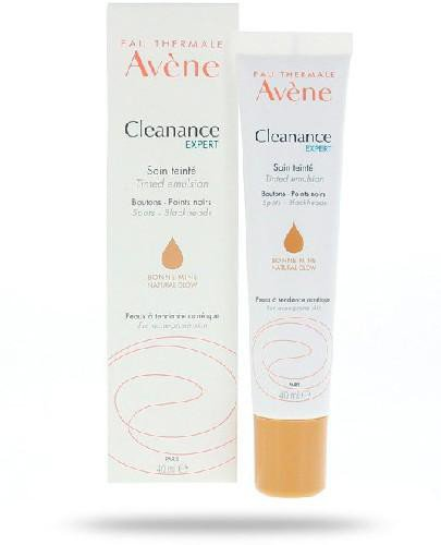 Avene Cleanance Expert emulsja koloryzująca 40 ml  whited-out