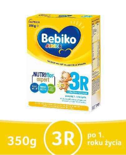 Bebiko 3R Junior mleko w proszku z kleikiem ryżowym dla dzieci po 1 roku życia 350 g