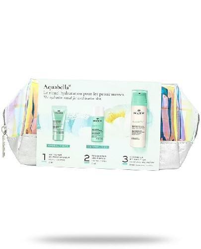 Nuxe Aquabella żel mikrozłuszczający do twarzy 15 ml + tonik esencja do twarzy 35 ml + ...