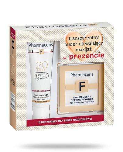 Pharmaceris F Capilar-Correction 20 Nude fluid kryjący SPF20 dla skóry naczynkowej 30 m...