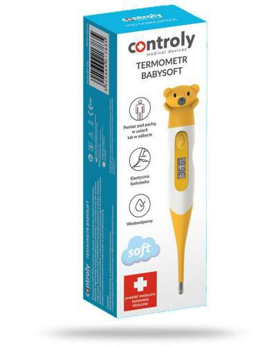 Controly Baby Soft termometr elektroniczny 1 sztuka  whited-out