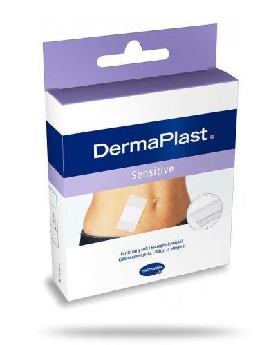 Plastry hipoalergiczne DermaPlast Sensitive 1m x 8cm 1 sztuka