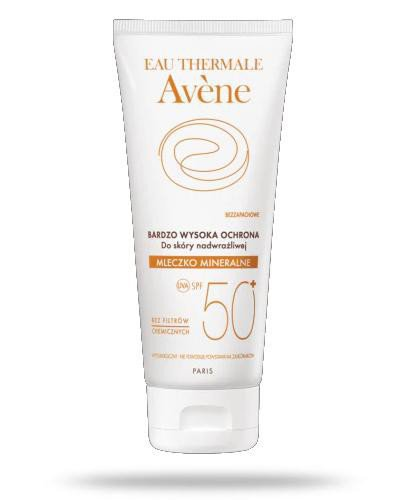 Avene Mleczko mineralne SPF50+ 100 ml  whited-out