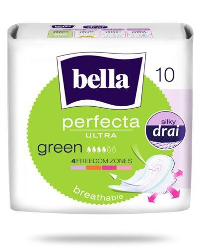 Bella Perfecta Ultra Green podpaski ultracienkie 10 sztuk