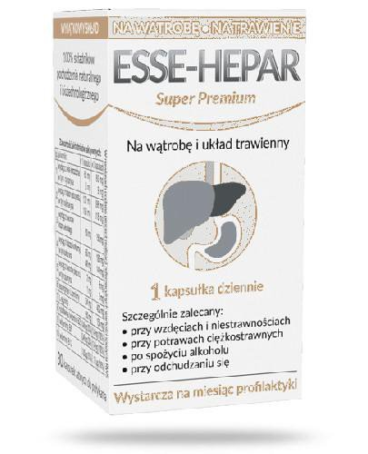 Esse-Hepar Super Premium 30 kapsułek