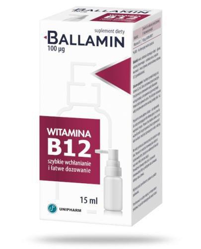 Ballamin aerozol doustny 15 ml